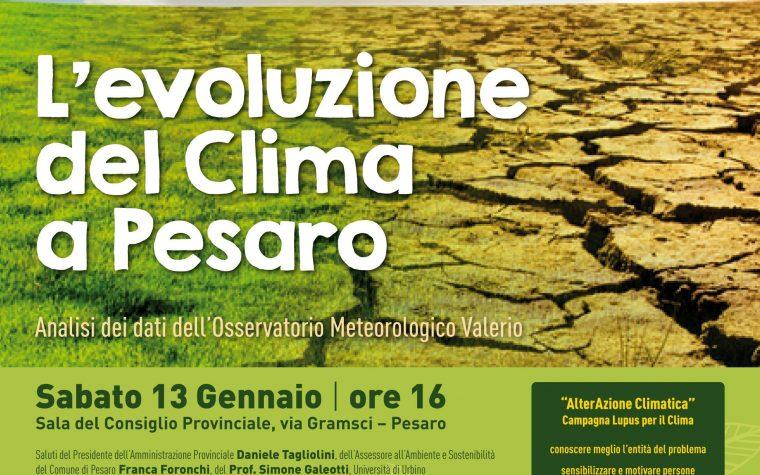 L'evoluzione del clima a Pesaro