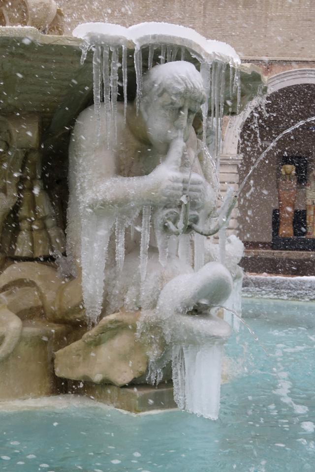 Fontana congelata