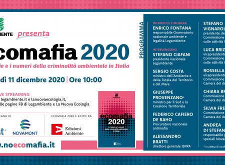 Rapporto Ecomafia 2020 – I dati sugli illeciti ambientali nelle Marche